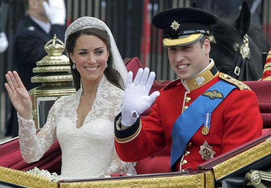 Уильям и Кейт сыграли свадьбу