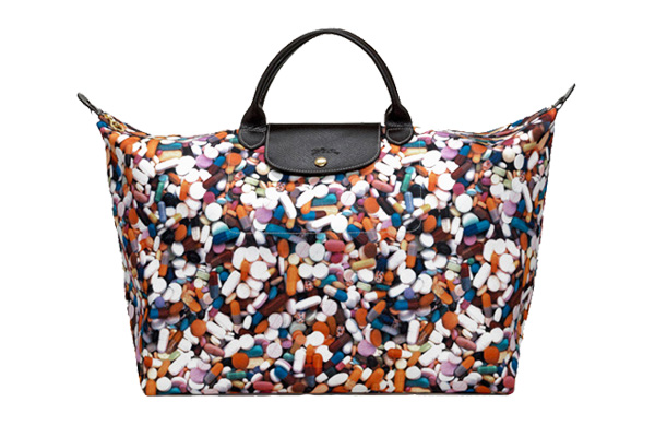 Сумка Le Pliage, Longchamp by Jeremy Scott.
