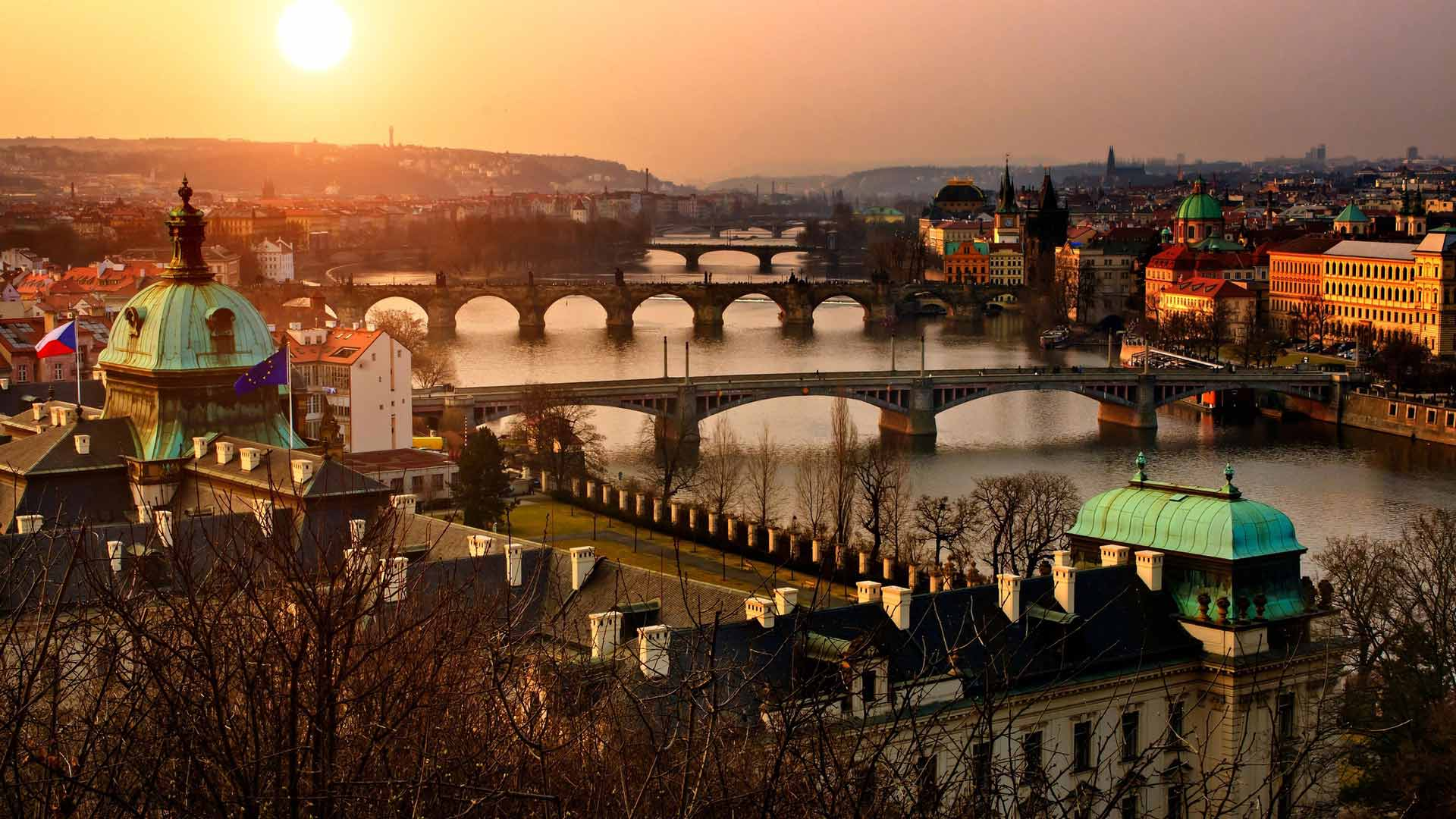 Прага  Чешский Штернберг *  природный парк Бастай* Дрезден