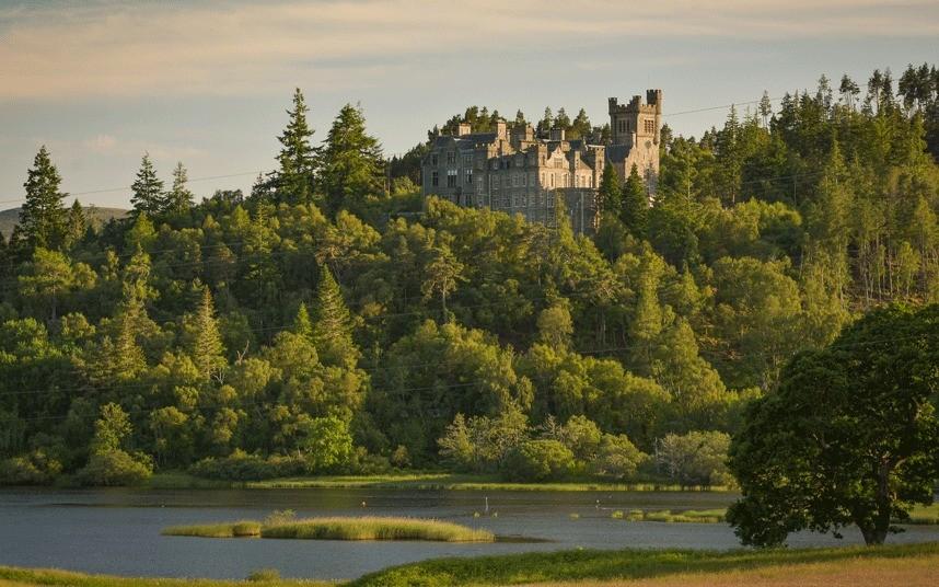 купить замок в шотландии