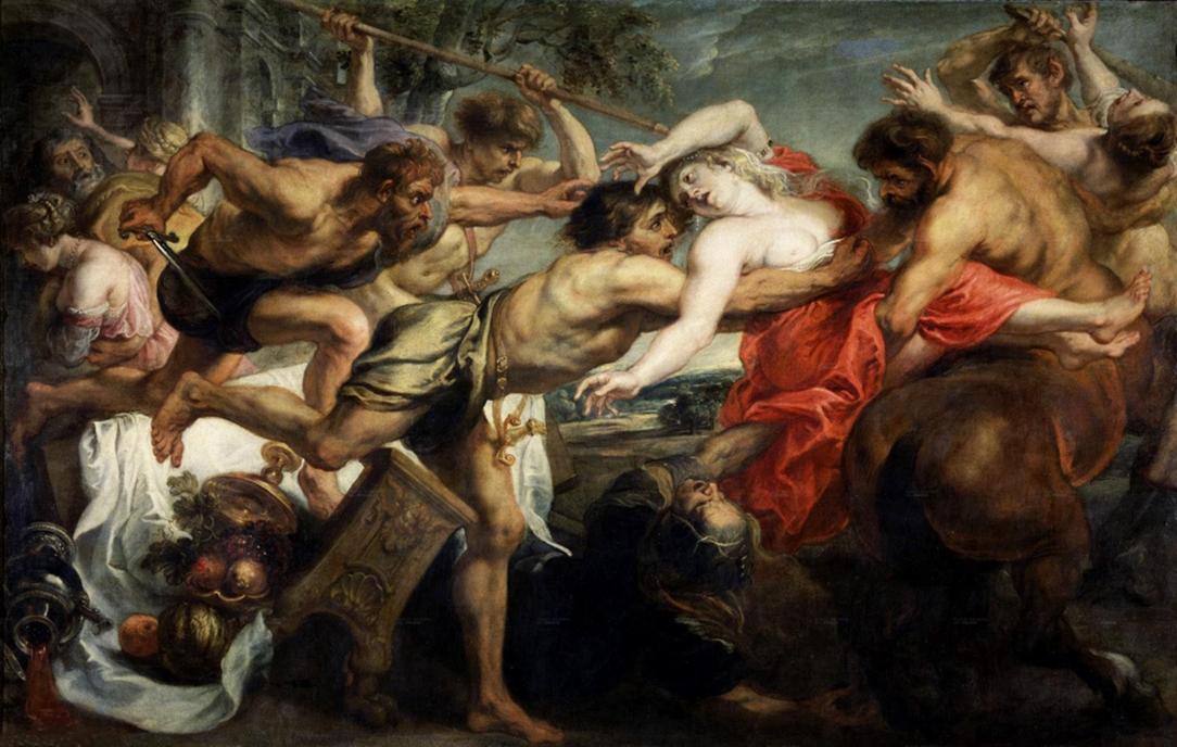 Питер Пауль Рубенс, «Похищение Гипподамии». Брюссель, Королевский Музей Изящных Искусств