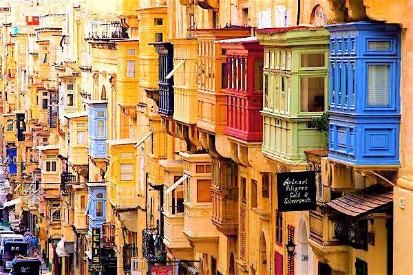 Улицы Валетты