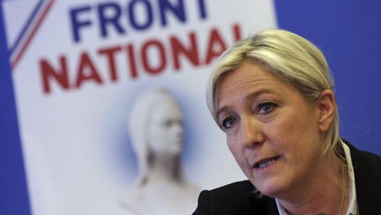 Марин ЛеПен временно оставляет пост руководителя «Национального фронта»
