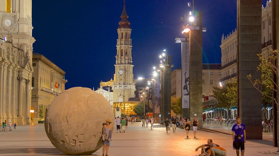 Ночная Сарагоса