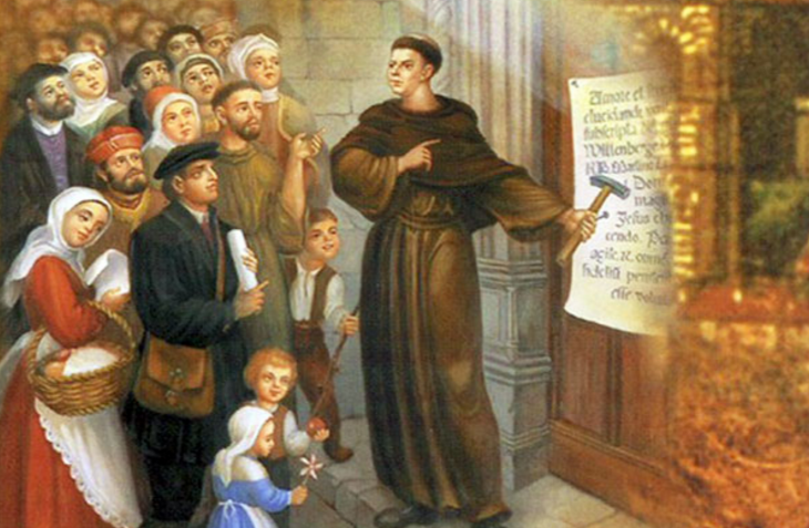 date martin luther nailed the 95 thesis Martin luther and the 95 theses martin luther he nailed the 95 theses to the church door on castle church in wittenberg, germany on october 31, 1517.